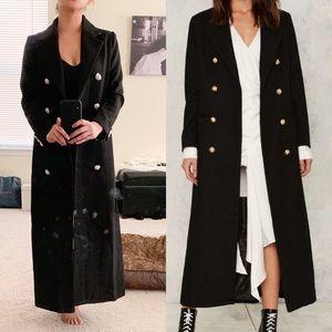 Nasty Gal Maxi Coat.